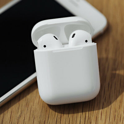 Earbuds For Apple New AirPods Wireless Bluetooth For iPhone X In-Ear-White new