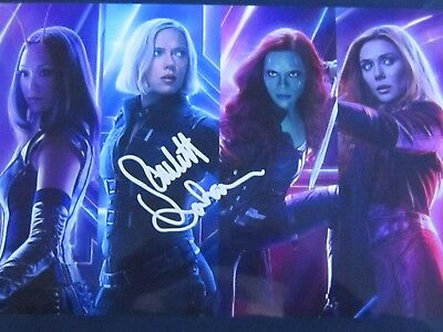 Scarlett Johansson Top Collection Signed Photo