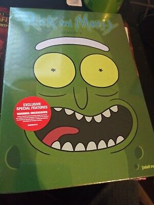 Rick and morty season 3 dvd