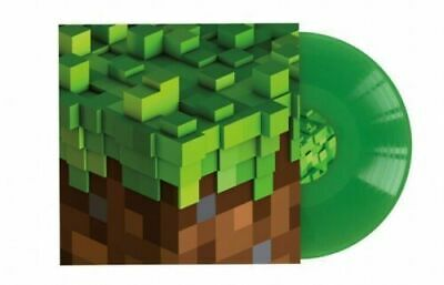 C418 Minecraft Volume Alpha GREEN VINYL LP Record -MP3 video game soundtrack NEW
