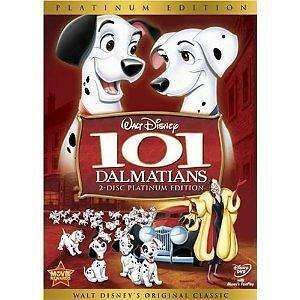 101 Dalmatians DVD 2008 2-Disc Set Platinum EditionNEW
