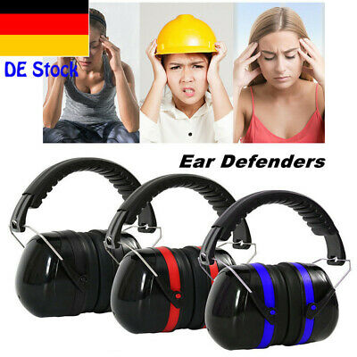 EAR DEFENDERS 34DB HIGHEST NRR SAFETY EAR MUFFS SHOOTING HEARING PROTECTOR ADULT