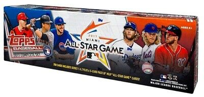 2017 Topps Baseball Complete Set Series 1-2 Cards 700 - 5 ALL STAR GAME CARDS