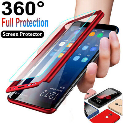 360° Full Case - Screen Protector For Samsung S10 S8 S9 Plus Note8 9 S7 Edge