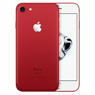 Apple iPhone 7 128GB GSM Unlocked for every GSM Carriers RED - Excellent