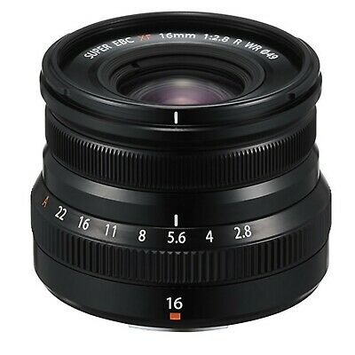 Fuji Fujifilm XF 16mm f2-8 R WR Lens Black NEW IN STOCK