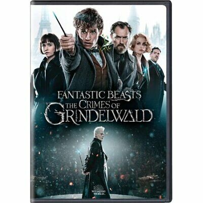 Fantastic Beasts The Crimes of Grindelwald DVD 2019 New w FREE Shipping