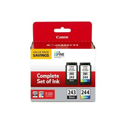 Canon Ink Package with PG-243 Black CL-244 Color Ink Cartridge 1287C006