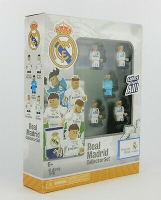 NEW Real Madrid CF Soccer Football Team 14-Piece Collector Set Collect them All