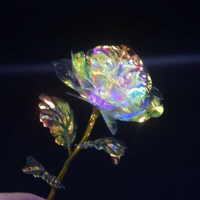 Galaxy Rose with Love Base Luminous Rose Mothers Day Anniversary Birthday Gifts