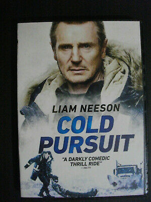 COLD PURSUIT DVD 2019-NEW SEALED-SHIPS NOW