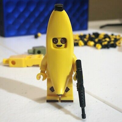 LEGO Custom UV Printed Fortnite Battle Royale lnspired Banana Skin Minifigure