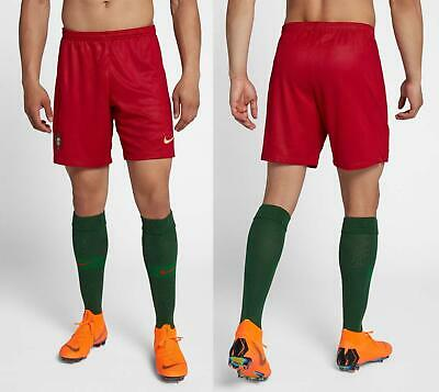 50 NIKE PORTUGAL SOCCER STADIUM SHORTS 2018 WORLD CUP 893932-687 GYM RED L