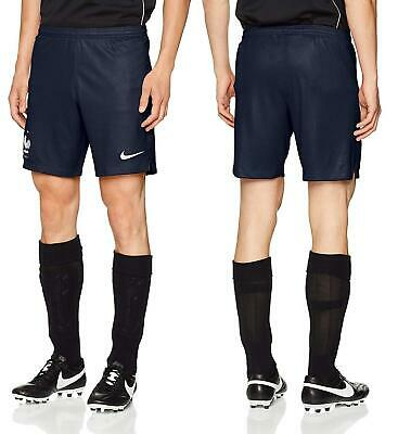 50 NIKE FRANCE SOCCER STADIUM HOME SHORTS 2018 WORLD CUP 940445-451 OBSIDIAN S