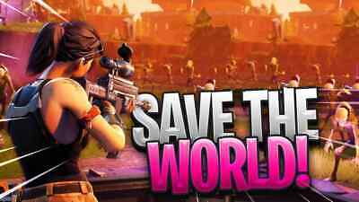 Fortnite Account with save the world Region-free - Warranty