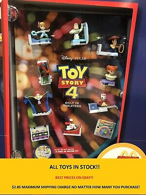 2019 McDonalds Toy Story 4 Happy Meal Toy McDonalds PRICES UPDATED 917 2 TOYS