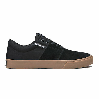 Supra Skateboard Shoes Stacks Vulc II Black-Gum