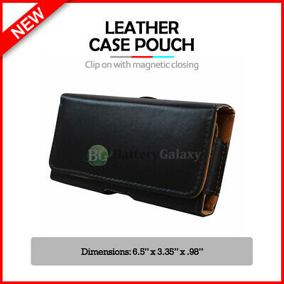 Genuine Durable Leather Pouch Phone Case for Android Phone LG Stylo 5