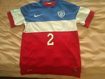 USMNT 2014 World Cup Nike USA Soccer Away Jersey Size Medium