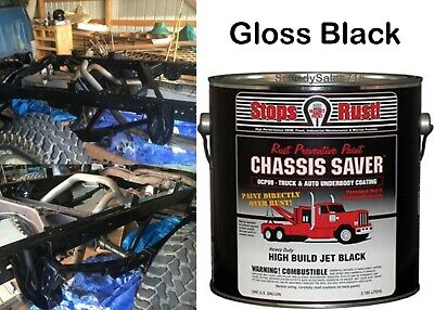 Magnet Paint UCP99-01 Chassis Saver Paint Gloss Black 1 Gallon Can New Free Ship