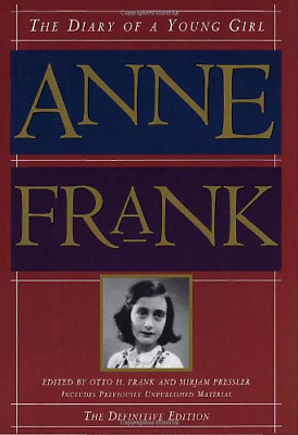 Anne Frank The Diary of a Young Girl - The Definitive Edition By Anne Frank
