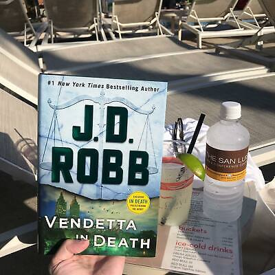Vendetta in Death An Eve Dallas Novel In Death Book 49 Hardcover by J- D- Robb