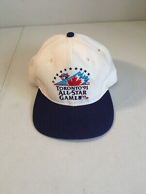 Vintage MLB Authentic Toronto Blue Jays 1991 All-Star Game Baseball Cap Hat OSFA