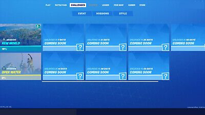 Fortnite Weekly Challenges - Chapter 2 Season 1 Read Info