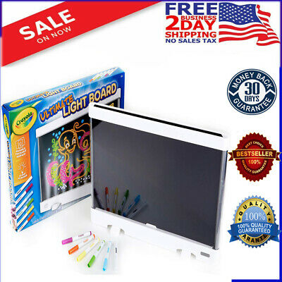 Crayola Ultimate Light Board Drawing Tablet Gift for Kids Age 6 7 8 9