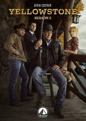 Yellowstone Season 2 DVD 2019 4-Disc Set - Brand New and Sealed - Fast Ship
