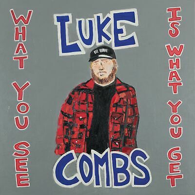 SEALED Luke Combs - What You See Is What You Get  - CD - 2019  FREE SHIPPING