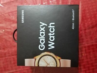 Samsung Galaxy Smartwatch 42mm Rose Gold  Brand NEW - Sealed