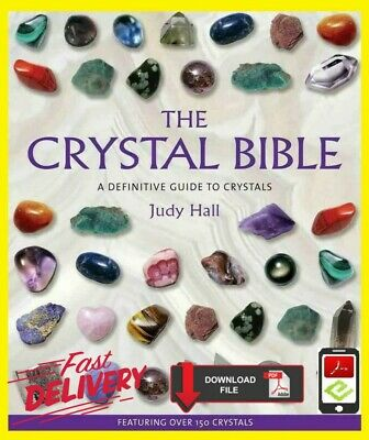 The Crystal Bible by Judy Hall 🔥 📧