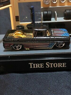 Hot Wheels 2012  4Th of July Custom 62 Chevy     Kroger  LOOSE