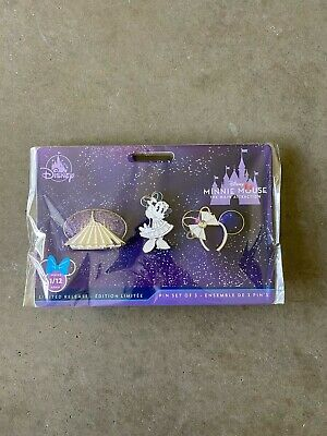 Disney Minnie Mouse The Main Attraction Space Mountain  Three Pin Set