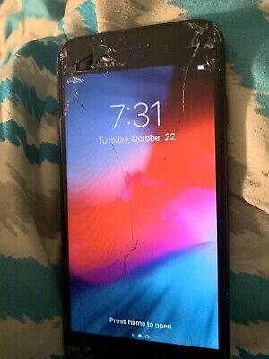 apple iphone 7 unlocked 64gb Cracked Screen