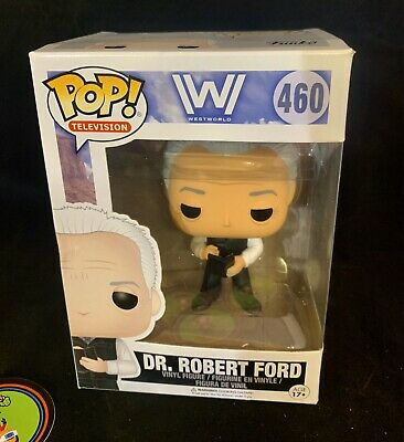 Funko Pop Dr Robert Ford And Teddy- Westworld 457 - 460