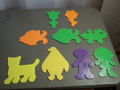Large Perler Bead Board - Multiple Shapes and Colors - NEW