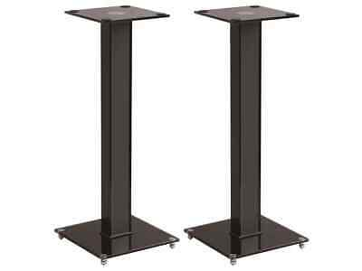 Monoprice Elements Speaker Stand - 28 Inch Pair With Cable Management