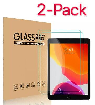 2-Pack Tempered GLASS Screen Protector for Apple iPad 6th Generation 2018