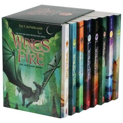 Wings of Fire 1-12 Books Set By Tui T- Sutherland  -8238 FDP