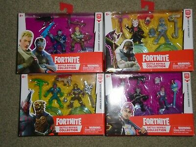Set of 8 FORTNITE Battle Royale Collection 2 Figures All Different - NEW-