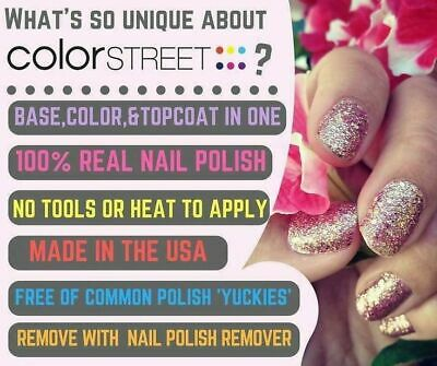 BUY MORE AND SAVE New Color Street Nail Polish Strips w Free Twosie - Tracking