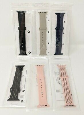 LOT OF 6 PCS VARIOUS BAND STRAP for Apple Watch 44mm 42mm SERIES 6 5 4  3  2