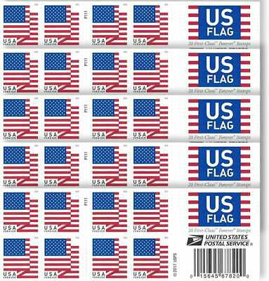 20 Brand New Unused USPS Forever Postage Stamps  No Expiration 11 VALUE