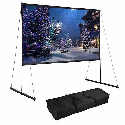 Yescom 150 Portable Detachable Projector Screen with Stand Movie Projection169