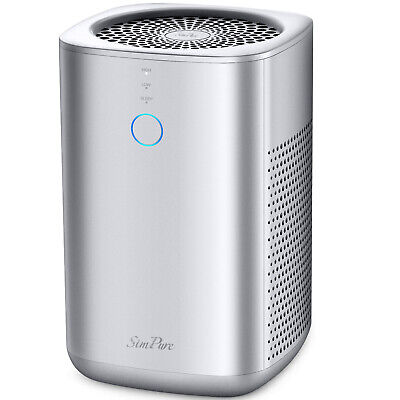 Home Air Purifier for Large Room Allergies Pet Smoke Double H13 HEPA Filters
