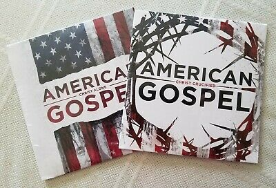 Brand New American Gospel Both Christ Crucified and Christ Alone