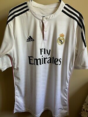 Real Madrid 20142015 Home Jersey