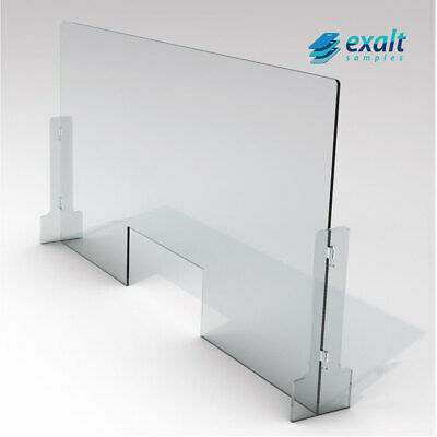 SNEEZE GUARDProtective Acrylic SNEEZE GUARD Countertop Barrier 14 THICK